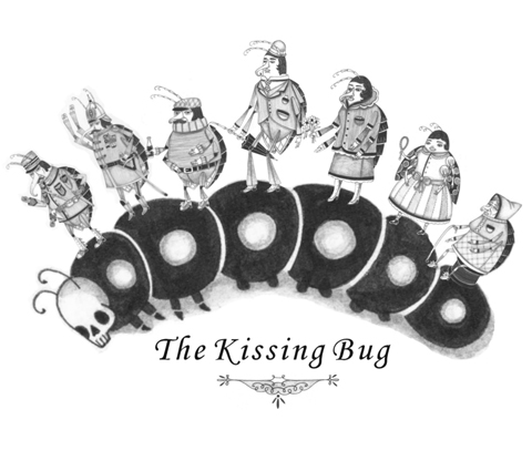 kissing bugs pictures. The Kissing Bug