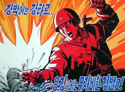 satellite photo of north korea at night. In North Korea, even that