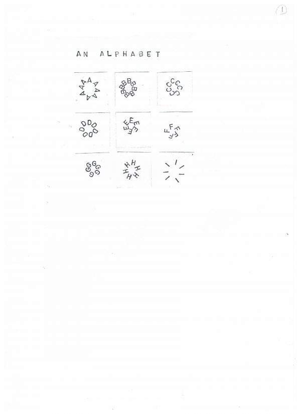 Poem Brut #63 - An Alphabet
