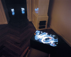 NOC, 1989, installation view of Communism show at Gallery Klatovy Klenova, Czech Republic, 2000